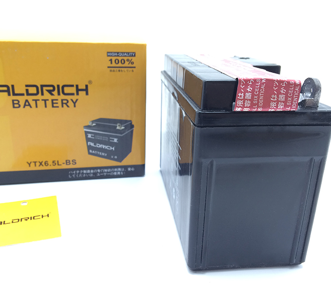 battery ytx6.5l bs