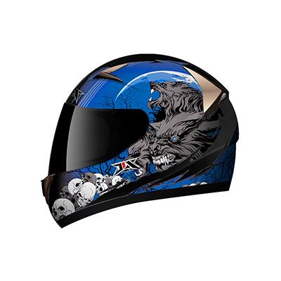 helmet blue