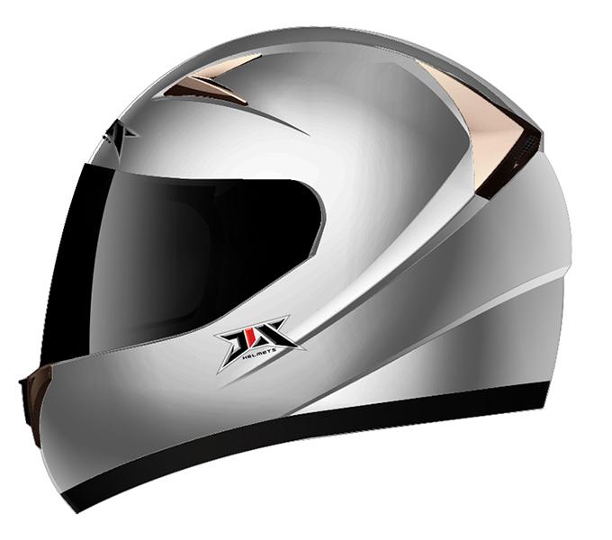 helmet silver