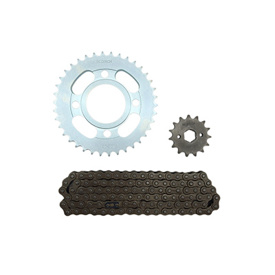 chain sprockets kit cg125 38t 15t