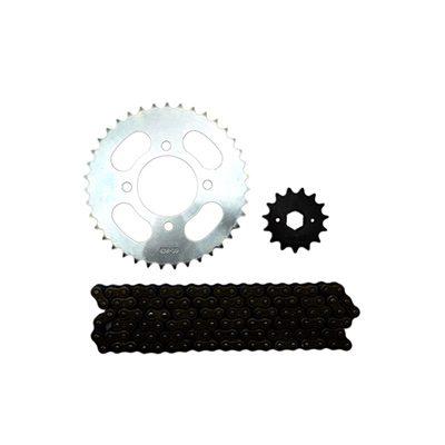 sprocket chain kit hj125 8 428h 114l 39t 15t