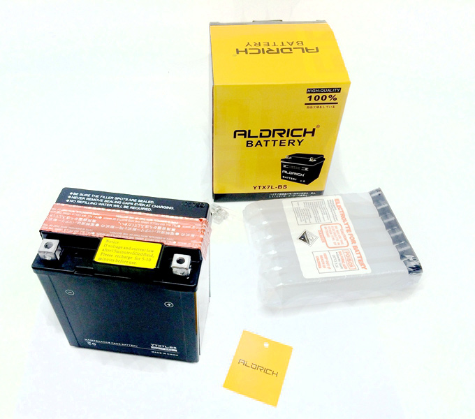 battery ytx7l bs