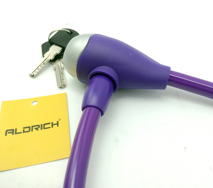 lock purple