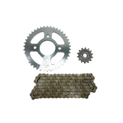 chain sprocket kit bm150 428h 128l 14t 42t