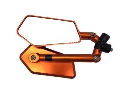 back mirror orange